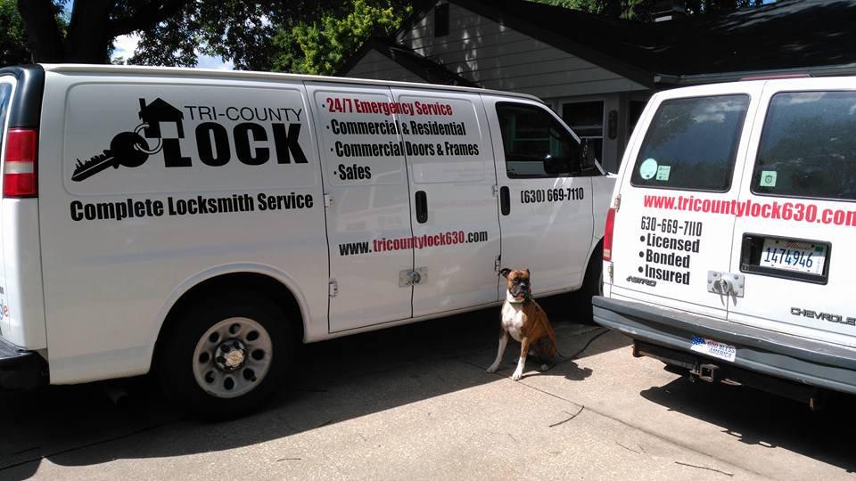Tri County Locksmith Service Vans