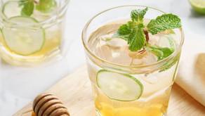 Healthy Honey Mint Lemonade