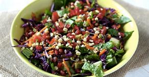 Detox Vegan Rainbow Salad