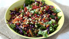 Detox Vegan Rainbow Salad