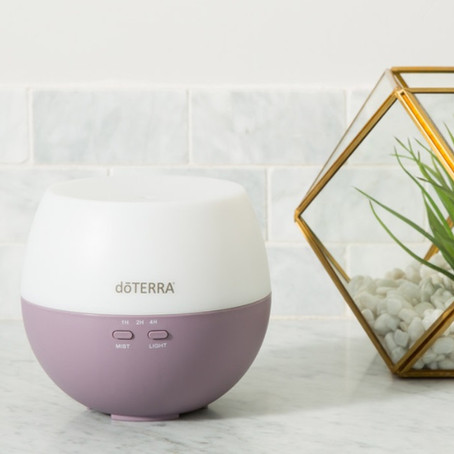 WHY DIFFUSE ESSENTIAL OILS?