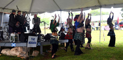 Port Belly Project dance to Rogues Tartan 2018