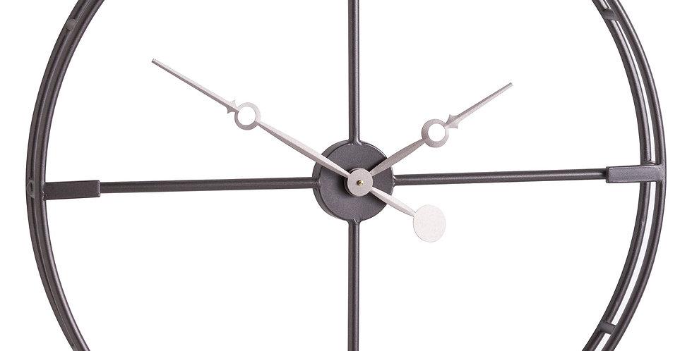 Large Skeleton Contemporary Clock