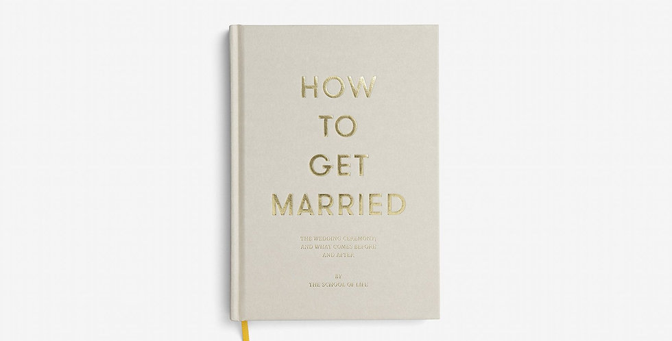 How To Get Married Book