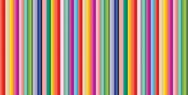 multi colour striped wrapping paper - bold colours