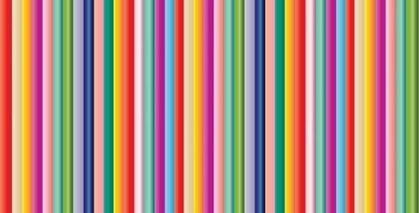 multi colour striped wrapping paper - bold colours