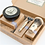 A delightful box containing 3 of the Captain's most desirable shaving requisites, ideal for keeping ship shape