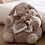 Very Sweet Bunny Armchair with plump padding, enveloping arms, long floppy ears and a cute face. Very comfy