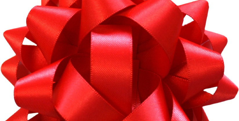 Premium scarlett red silk bow perfect for gifts
