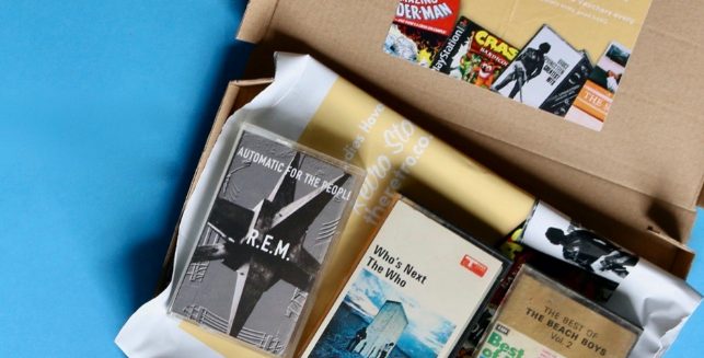 The Retro Cassette Tape Club gift Subscription