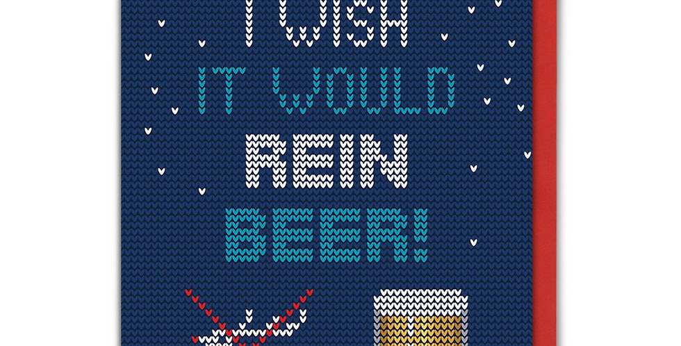 Rein Beer Christmas Card