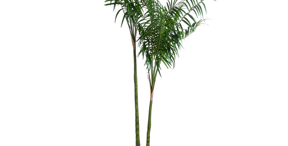 large Potted fake palm tree