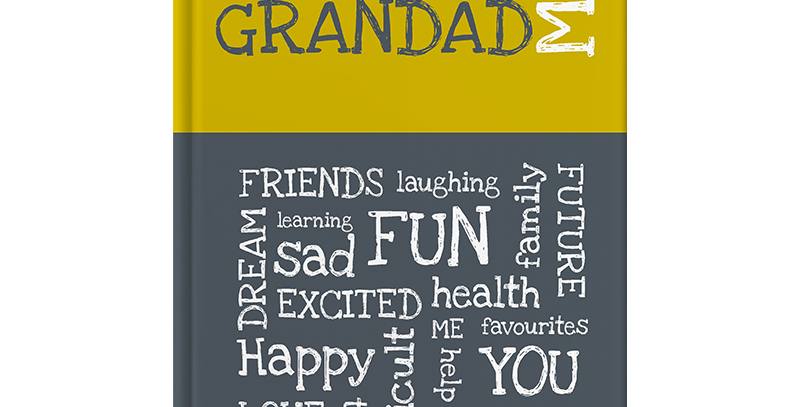 award-winning fun and interactive journal to inspire any grandfather & child to have a great time getting to know each other