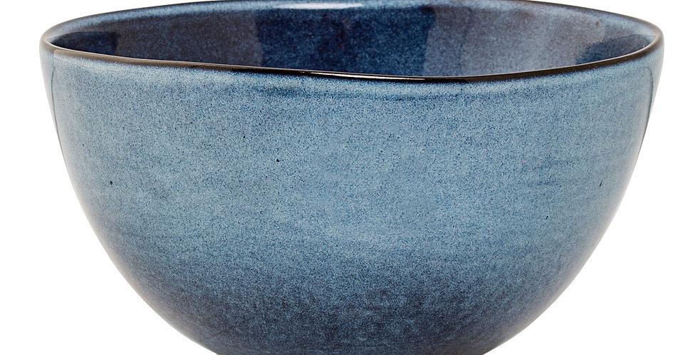 Sandrine blue ceramic bowl