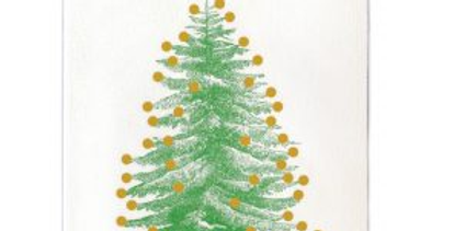 Tree With Gold Baubles