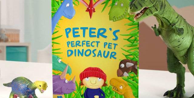 Personalised Pet Dinosaur Story Book