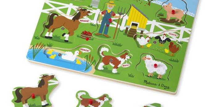 Old McDonald's Farm Sound Puzzle by Melissa and Doug