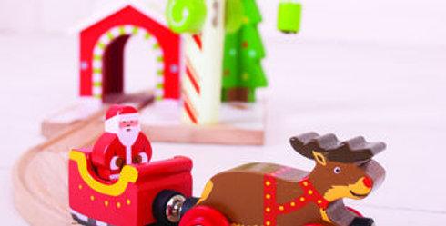 Personalised Santa Train & Track