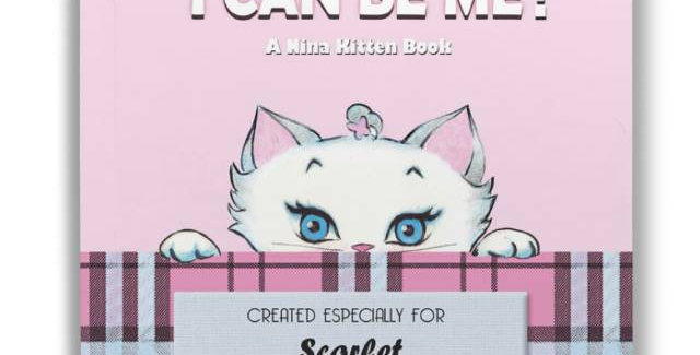 personalised I can be me book