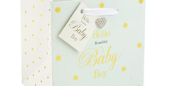 Mad Dots Baby Boy Gift Bag