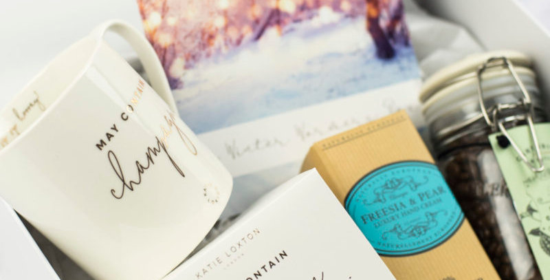 Monthly subscription box gift for ladies