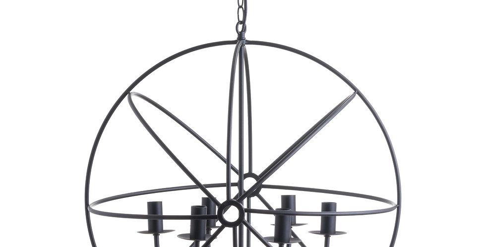 Spherical Round Industrial Chandelier