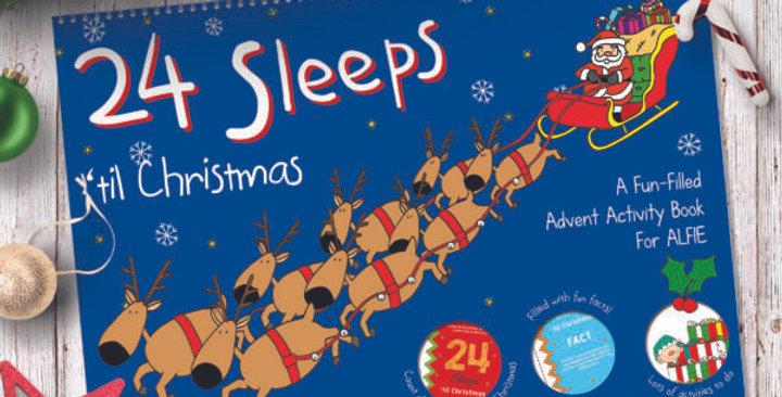24 Sleeps 'til Christmas Personalised Book