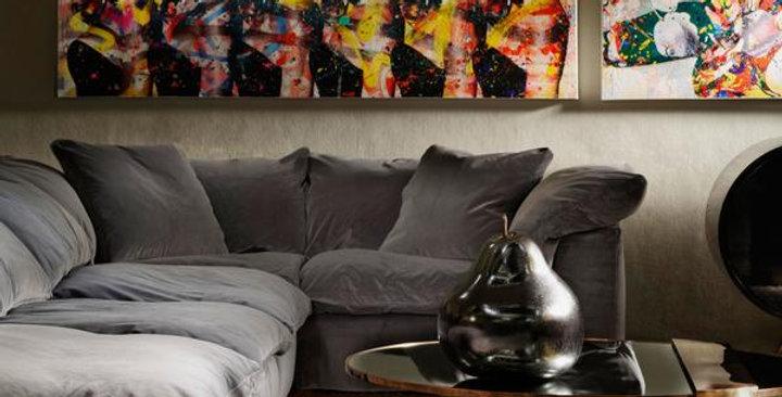 Truman Large Villandry Peregrine Sectional Sofa