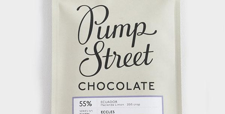 Premium chocolate flavoured with eccles cake