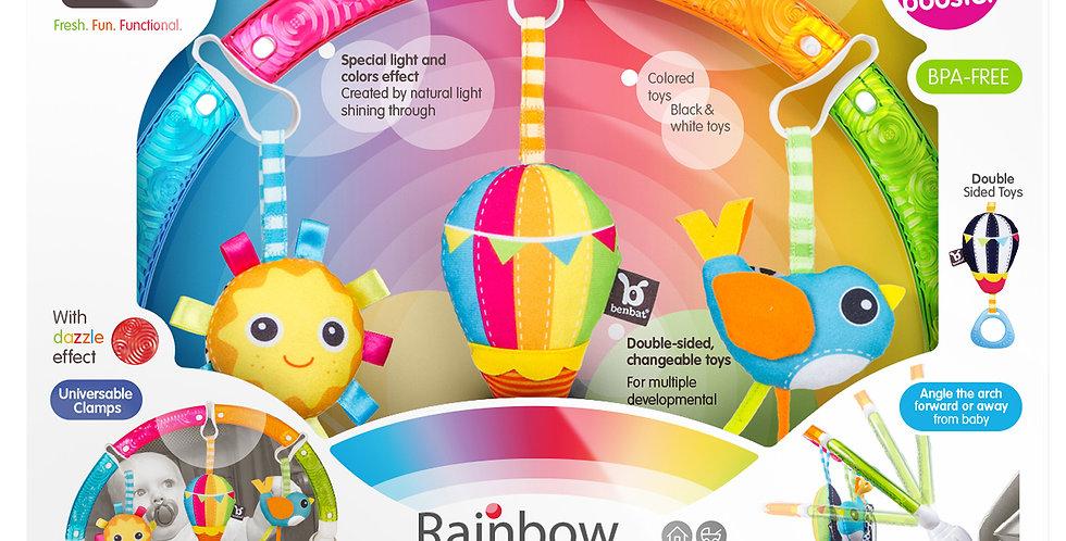 dazzle friends rainbow play arch