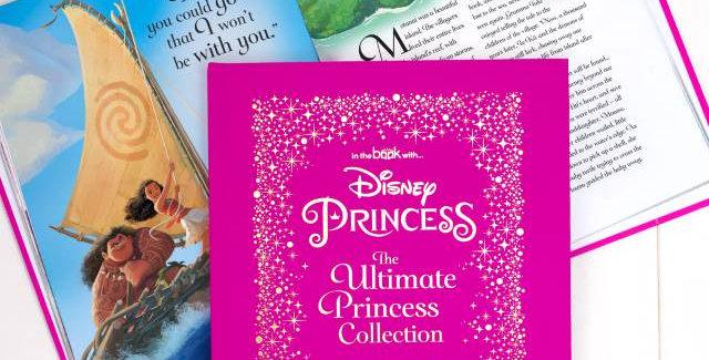 disney princess personalised book