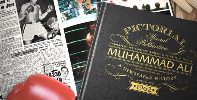 Muhammad Ali Pictorial Edition Newspaper Book