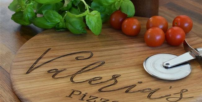 Name Pizza Board