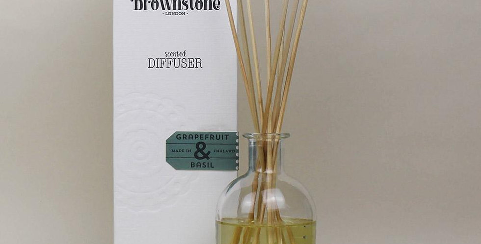 refreshingzesty fragranced diffuser from Brownstone London