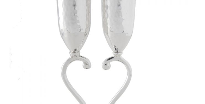 Heart shaped lovers cups