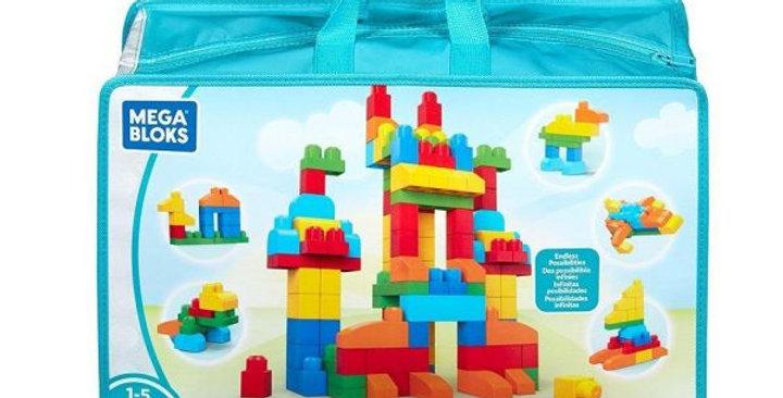 Mega Bloks 150 Piece Deluxe Building Bag