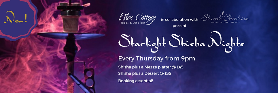 Website Homepage Slider Starlight Shisha
