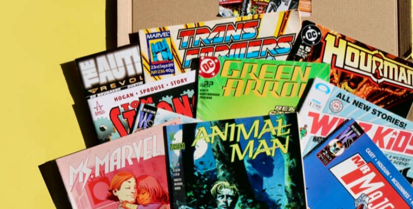 The Retro Comic Club Subscription