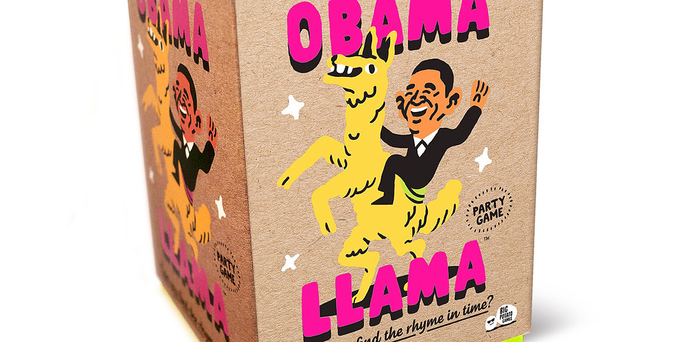 Obama Llama is a rhyming charades game that provides loads of silly fun