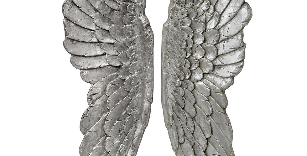 Antique Large Angel Wings