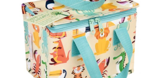 colourful creatures insulated lunchbox