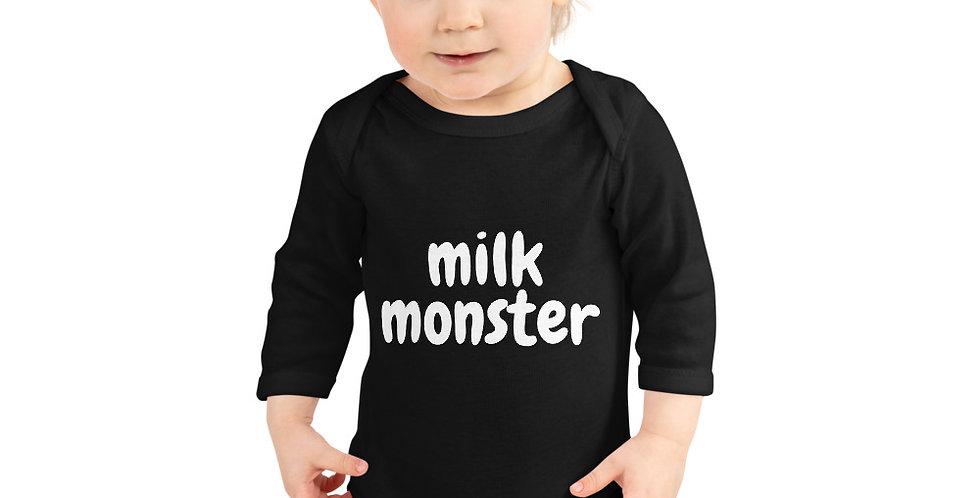 milk monster babygrow