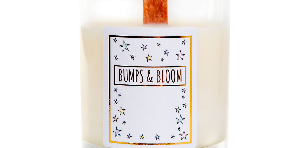 Bumps and Bloom Bedtime Candle