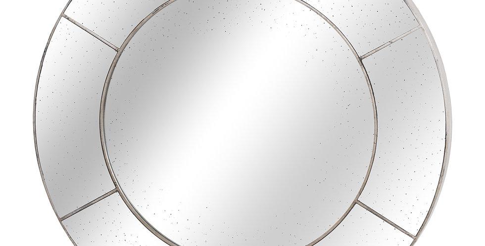 Augustus Circular Window Wall Mirror