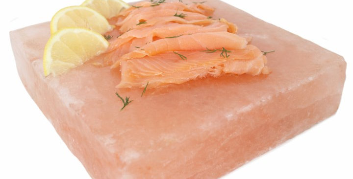 Square Himalayan Salt Cooking Block
