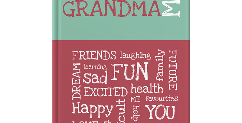 Grandma & Me is an award-winning fun & interactive journal to inspire a grandmother & child to get to know each other better