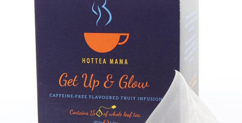 get up & glow tea