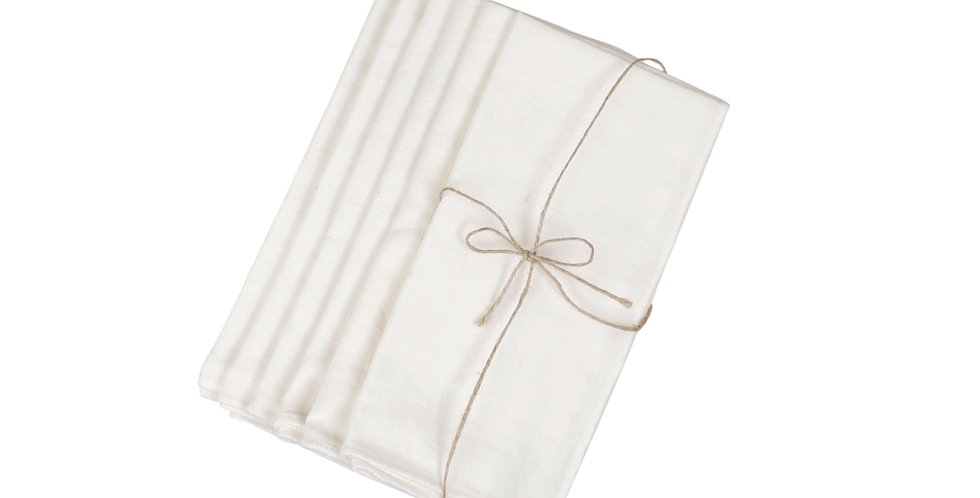 Amiens napkin set in off white