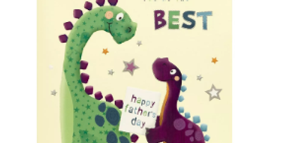 Dinosaur With Love Daddy On Father's Day