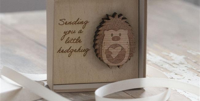 Sending You A Little Hedgehug